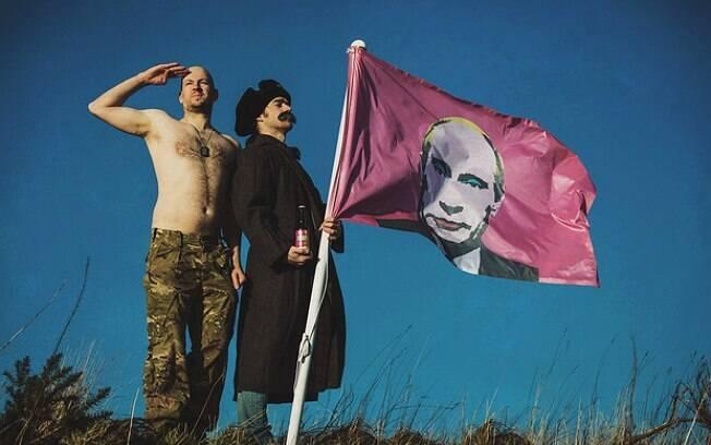 Rosto do presidente russo aparece com maquiagem no rótulo da nova cerveja da BrewDog