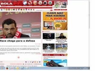Zagueiro Wallace teve poucas chances no elenco celeste, atuando apenas quando os reservas entravam em ação