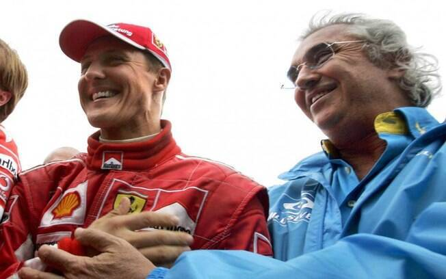 Schumacher e Briatore