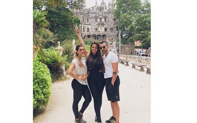 Kelly Key, Suzanna e Mico Freitas