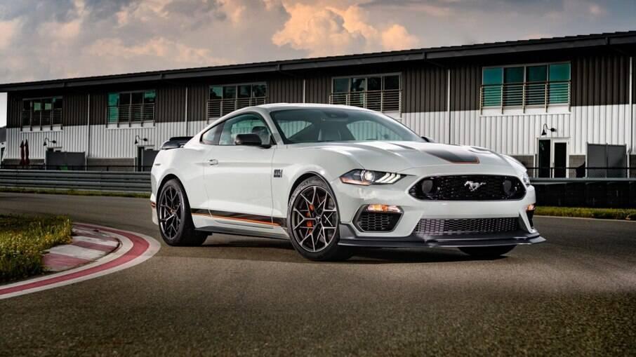 Com preço de R$ 499.000, a Mach 1 será a única versão do Mustang importada para o Brasil em 2021