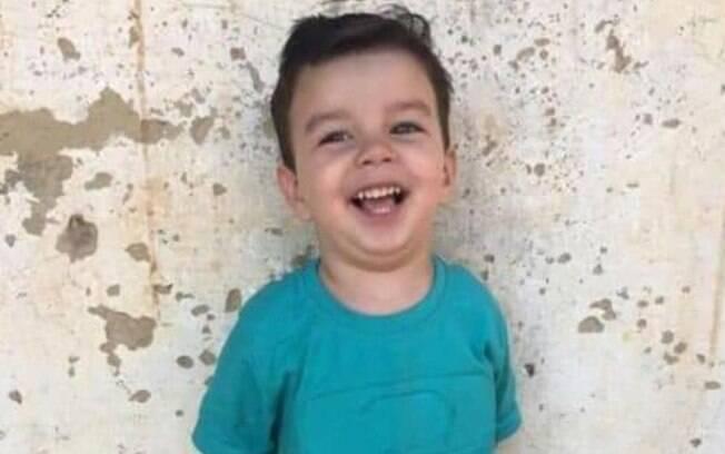 João Gabriel Borges da Silva, de 3 anos, foi picado por escorpião em casa