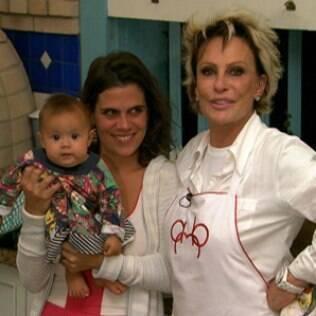 Ana Maria Braga, Mariana e Joana: avó mais uma vez
