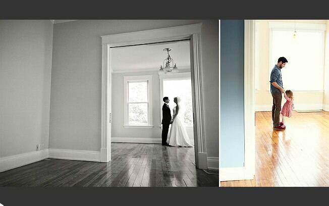 Fotos são uma forma de guardar as lembranças da casa, diz Nunery