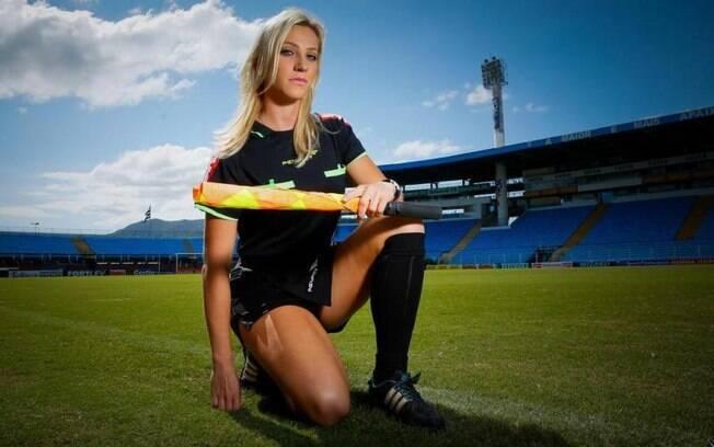 Fernanda Colombo Uliana largou o futebol