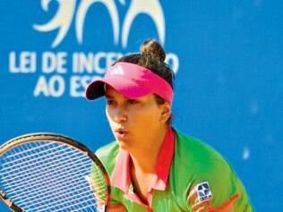 Evolução. Em 2013, Marcela conquistou os primeiros pontos para o ranking mundial em torneio no Egito