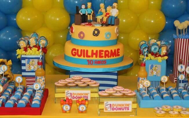 Antigos na TV, os personagens de 'Os Simpsons' agora são pedidos pelos aniversariantes que querem sair do lugar-comum
