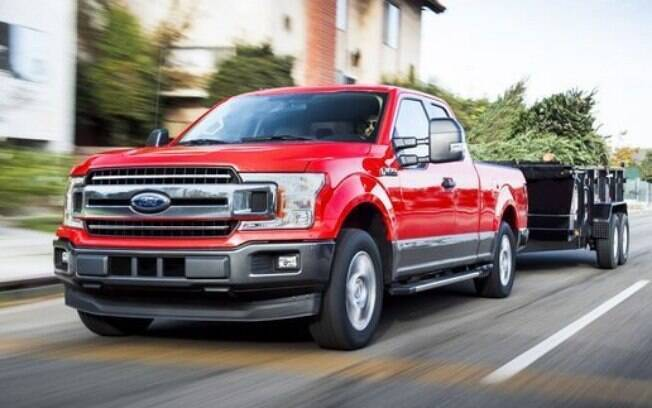 Ford F-150: Picape mais vendida nos EUA, poderá rebocar mais de 5 toneladas e levar quase 1 tonelada de carga