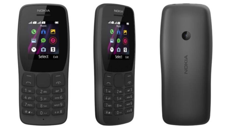 Nokia 110 fabricado no Brasil é lançado com jogo da cobrinha