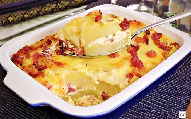 Receitas de batata gratinada fáceis e saborosas