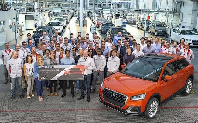 O Audi Q2 será produzido em Ingolstadt (Alemanha), na mesma linha que o A3, e com o motor 1.0 turbo do Volkswagen Up! - mas no SUV ele gera 116 cv.