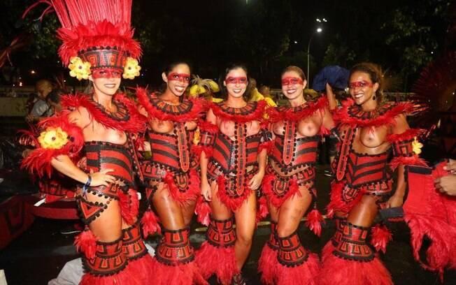 Desfile do Salgueiro. Foto: William Oda/AgNews
