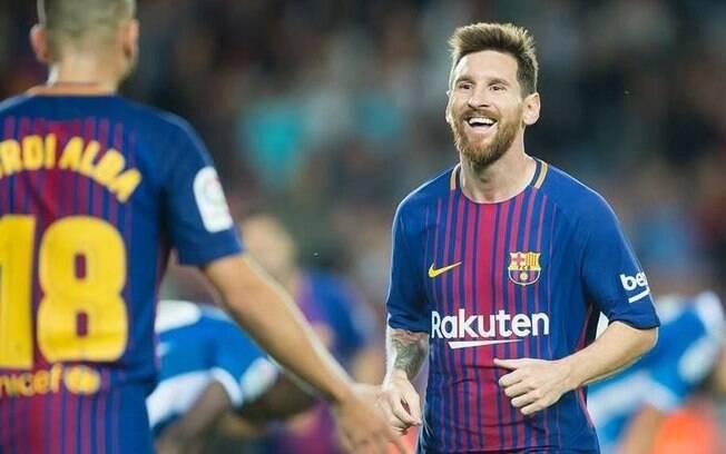 2º: Lionel Messi ganhou 23,3 milhões de dólares (R$ 96,5 milhões) com publicidade e recebe 648 mil (R$ 2,6 milhões) por post