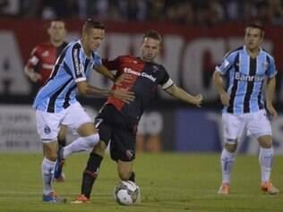 Em jogo difícil, Grêmio conseguiu um ponto fundamental na Argentina
