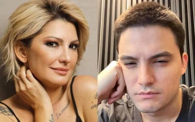 Antônia Fontenelle e Felipe Neto