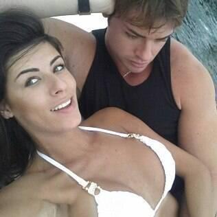 Thor Batista e a namorada Paola Leça