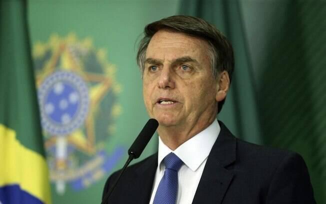 Presidente do Brasil Jair Bolsonaro