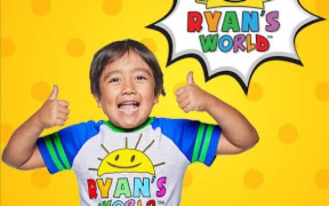 O canal Ryan's World foi o mais bem pago no Youtube em 2019