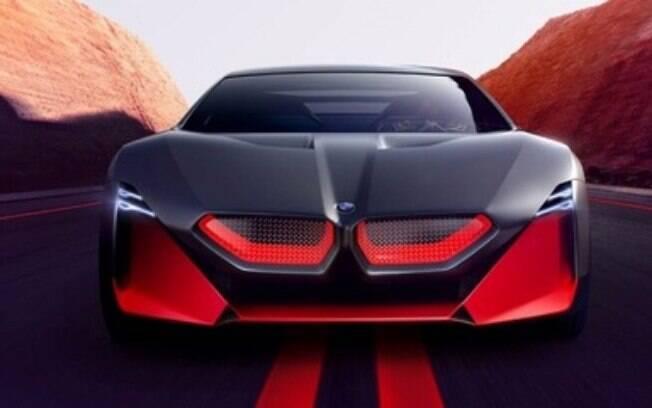 Conceito Vision M Next mostra como será a nova geração do Série M5, totalmente elétrico, com 600 cv