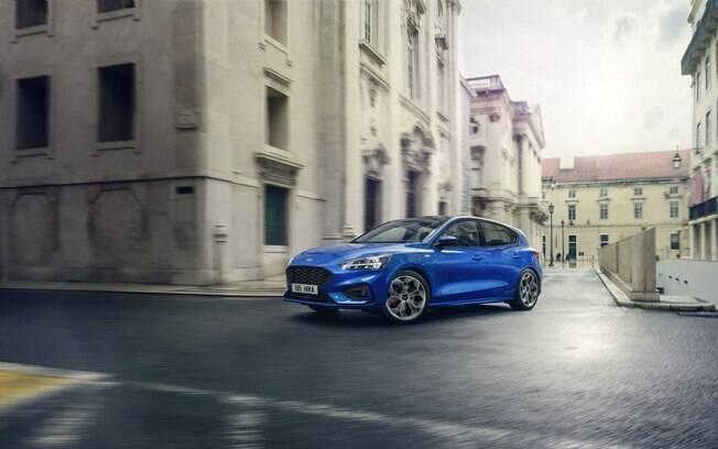 Ford Focus: versão esportiva ST-Line vem com motor 2.0 EcoBoost, de 150 cv e câmbio automático de oito marchas