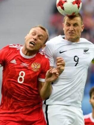 Rússia joga a competição em casa