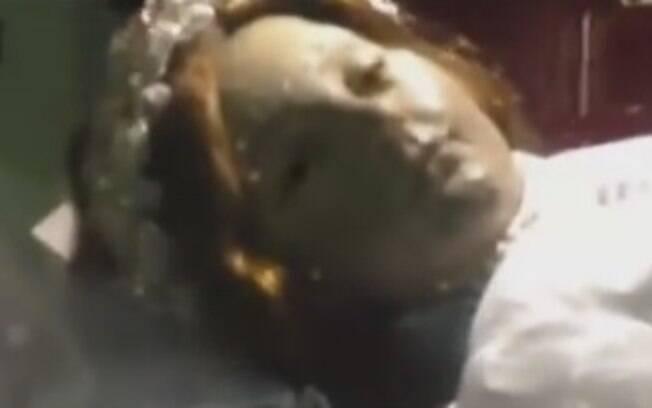 Turista teria filmado momento em que Santa Inocência abriu os olhos em igreja de Guadalajara, na região central do México