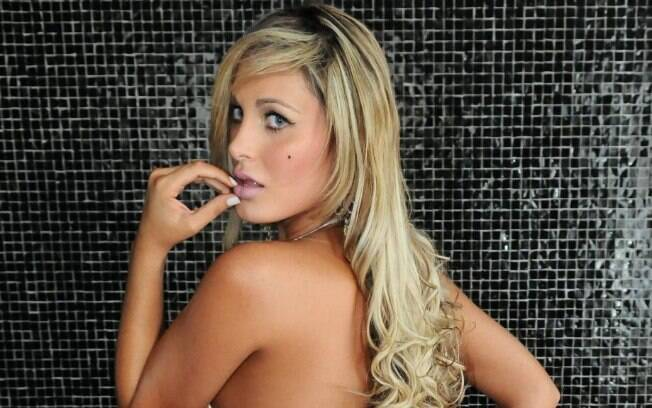 Andressa Urach, vice-campeã do Miss Bumbum  2012