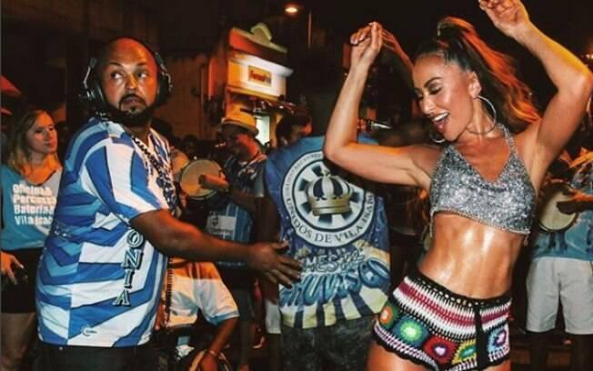 Sabrina Sato desfilará pela Unidos de Vila Isabel no carnaval do Rio