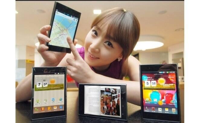 Smartphone da LG de 5 polegadas