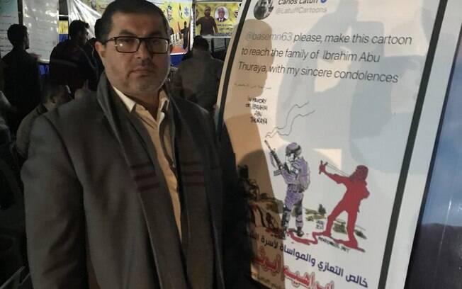 Basem Naim respondeu em nome do Hamas aos ataques de Flávio Bolsonaro