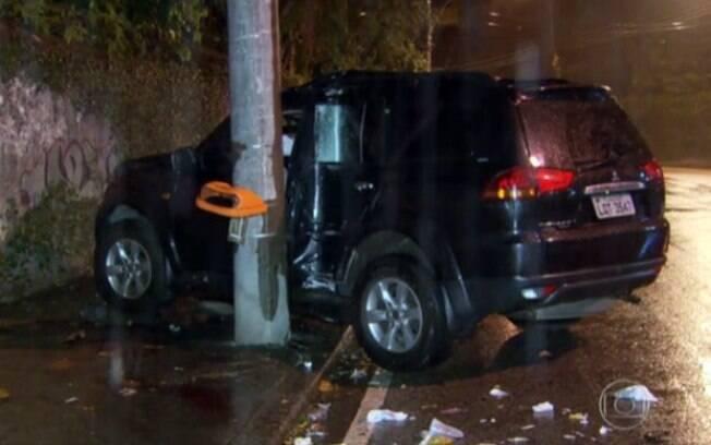 Local do acidente onde o filho de Ivo Pitanguy atropelou e matou o operário José da Silva, na zona sul do Rio