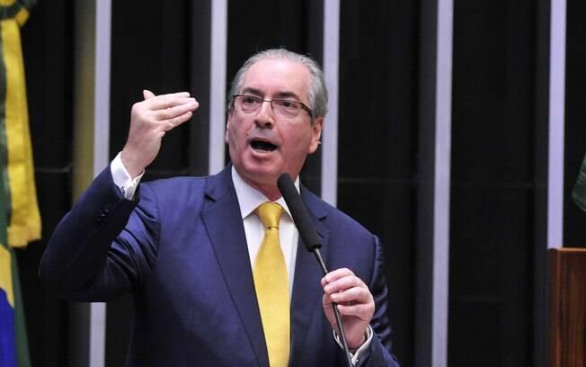 Ex-presidente da Câmara, deputado afastado Eduardo Cunha teve 25 minutos para fazer defesa no plenário: sem resultado