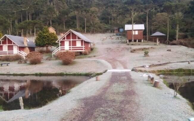 Rio Grande do Sul registrou temperaturas negativas neste domingo