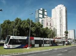 Trecho de rua terá bloqueio para obras do VLT até dezembro