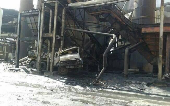 O presidente da Usiminas, Sérgio Leite de Andrade, disse que a usina voltou a operar parcialmente já na noite desta sexta, depois de algumas áreas terem sido liberadas pelo controle de segurança da siderúrgica
