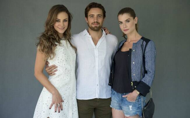 Paolla Oliveira, Rafael Cardoso e Alinne Moraes
