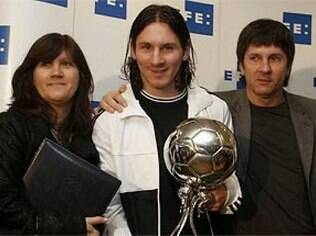 Messi e seus pais, Jorge Messi e Celia Cuccittini