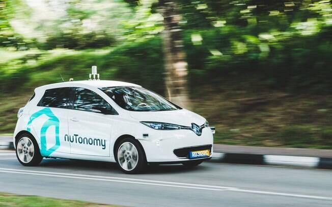O táxi autônomo da nuTonomy estará disponível para todos em Cingapura em 2018. Até lá, começa a ser testado pelo público em uma pequena parte da cidade.