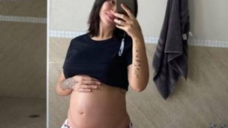 Bianca Andrade está grávida de 6 meses