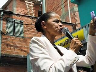 Confiante. Diante de sua queda nas últimas pesquisas, Marina Silva diz já estar no segundo turno e aposta na força dos militantes