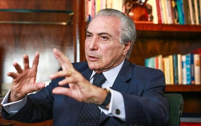 Vice-presidente da República, Michel Temer (PMDB):