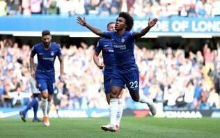 Chelsea rejeitou propostas milionárias por Willian, afirma TV