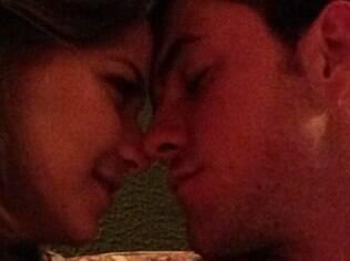 Milena e o namorado