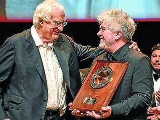 Prêmio. Pedro Almodóvar anunciou seu próximo filme durante o festival Lumière, na França, onde recebeu um prêmio