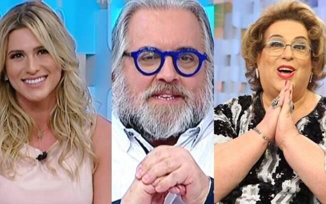 Lívia Andrade, Leão lobo e Mamma Bruschetta são demitidos do SBT