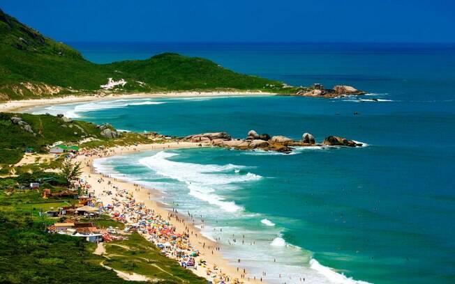 Quando se fala de praias paradísiacas, Floripa está sempre na lista