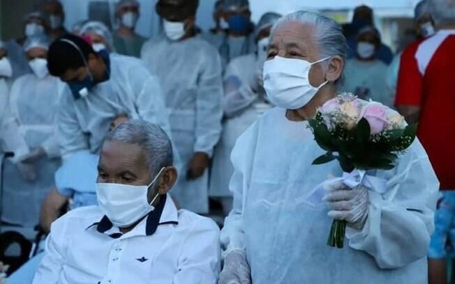 João Ferreira Viana e Teonila Alves se casaram 4 dias antes da morte dele