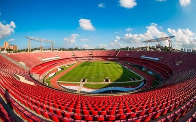 Estádio do Morumbi, casa do São Paulo Futebol Clube