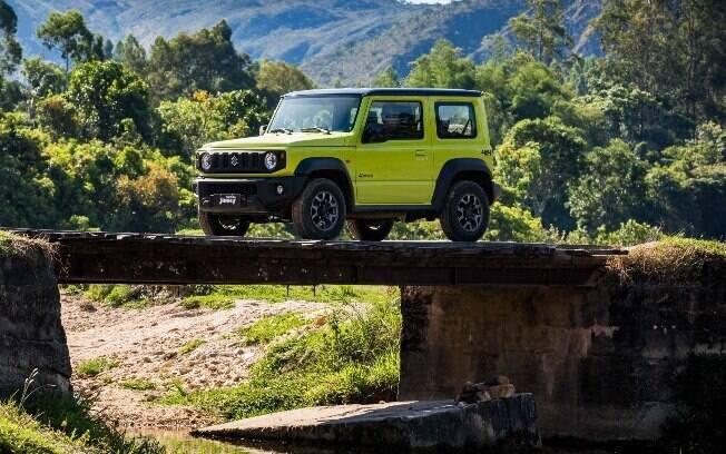 Suzuki Jimny verde