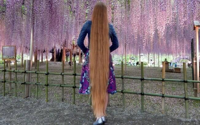 Rapunzel da vida real, Andrea Colson cresceu no Hawaii e, hoje, mora na Micronésia